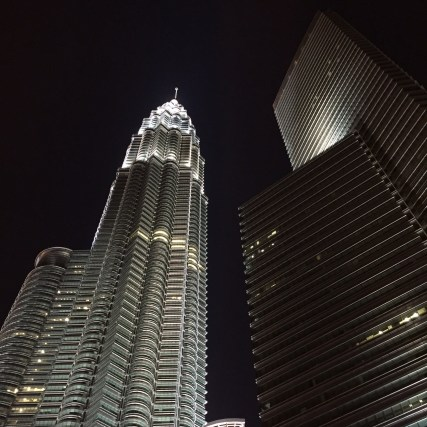 Petronas at night